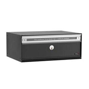 Kvalitní poštovní schránka PC2, černá