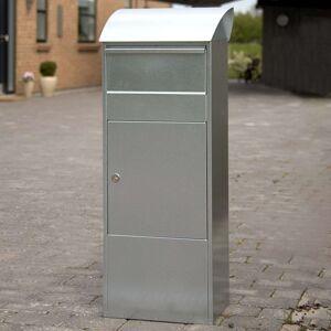 Stojanová poštovní schránka Allux 820G, šedá