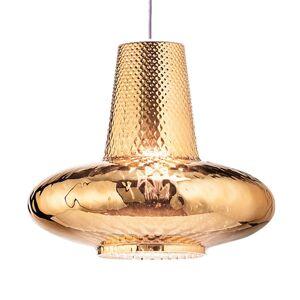 Závěsné světlo Giulietta 130 cm antická zlatá