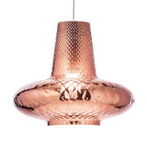 Závěsné světlo Giulietta 130 cm růžové zlato