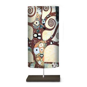 Stojací lampa Klimt I s uměleckým motivem