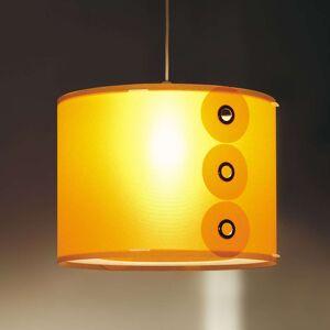 Oranžové závěsné světlo Rotho