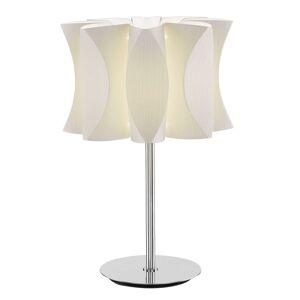 Stolní lampa Lumetto Virus bílý jasan