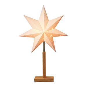 STAR TRADING Karo - stojákové světlo se vzorkem hvězdy 55 cm