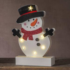 Best Season LED dekorativní světlo Freddy sněhulák