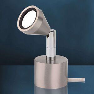 Otočná stolní lampa LED MINI, teplá bílá