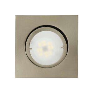 Joanie LED podhledové svítidlo, kartáčované železo
