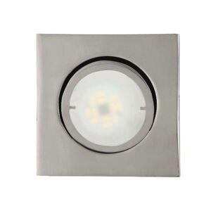 Hranaté LED podhledové svítidlo Joanie, chrom