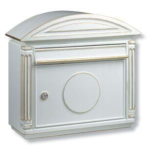 Hliníková poštovní schránka Venezia, bílá