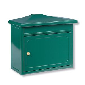 Kopenhagen poštovní schránka zelená