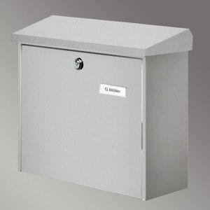 COMFORT poštovní schránka, stříbrná