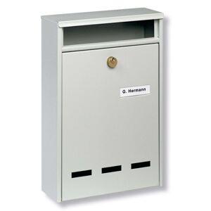 Standardní poštovní schránka Wismar B5, bílá