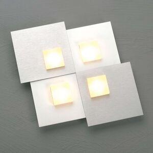 Bopp Pixel 2.0 LED stropní svítidlo 4zdr hliník