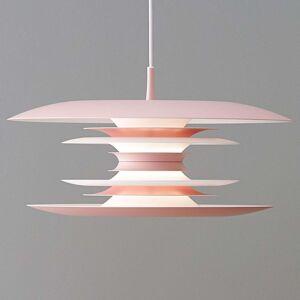 LED závěsné svítidlo Diablo Ø 40 cm světle růžové