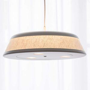 LED závěsné svítidlo Vigo - Casambi, stříbrné/bílé