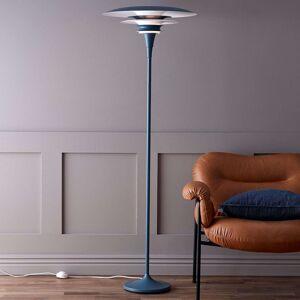 Stojací lampa Diablo, holubí modř