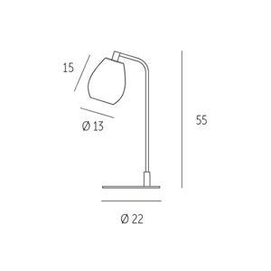 Casablanca BA61-T156K Stolní lampy