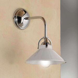 Nástěnné světlo GIACOMO, keramické stínidlo