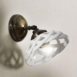 Nástěnné světlo Emanuel keramika