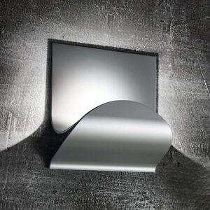 Cini&Nils Incontro LED nástěnné světlo mat stříbro