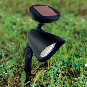 Solární bodové LED světlo Ludo, černá