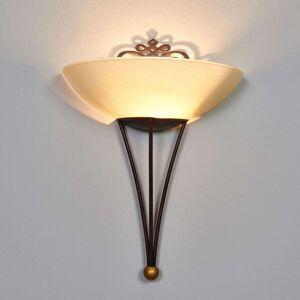 Vkusné nástěnné světlo Master s dekorací