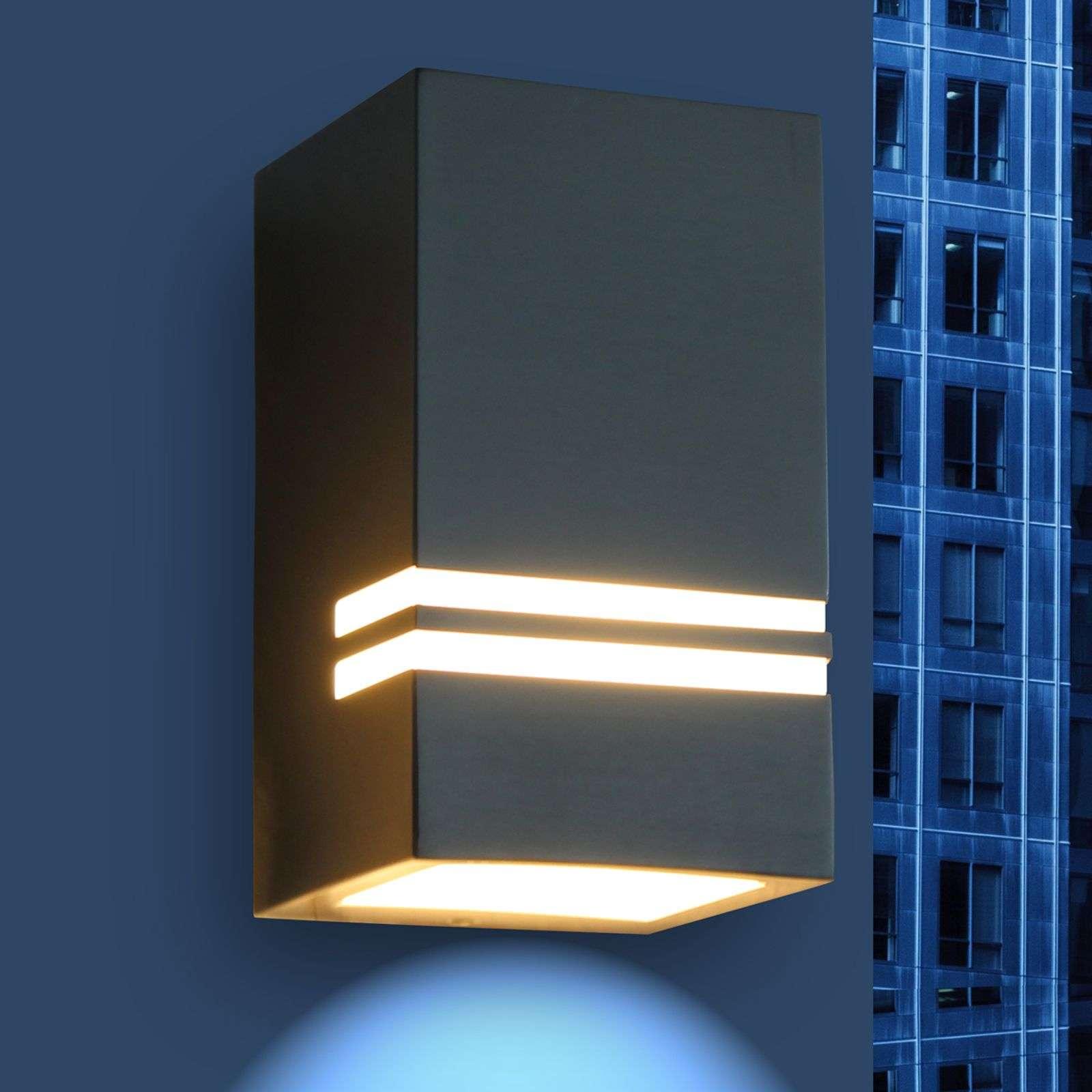 Stripes, atraktivní venkovní nástěnné LED svítidlo