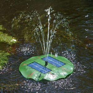 Seerose – plovoucí solární jezírková fontánka