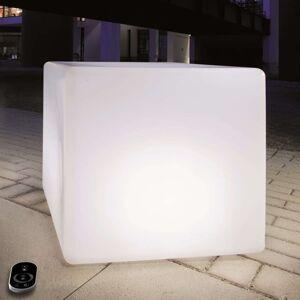 Stmívací krychle s LED, baterií, dálkové ovládání