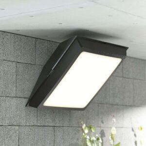 Černé stropní LED světlo Giuseppe do exteriéru 18W