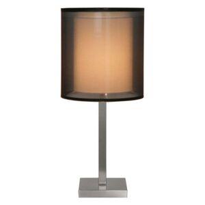 Stolní lampa Quattro se stínidlem z organzy, 58 cm