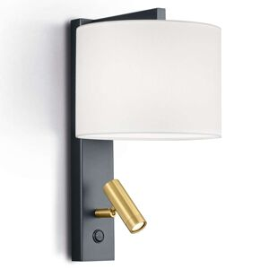 Nástěnné světlo Mila otočná LED lampa na čtení