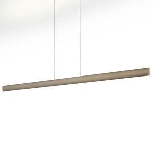 Knapstein LED závěsné světlo Runa, černá, bronzová 152 cm