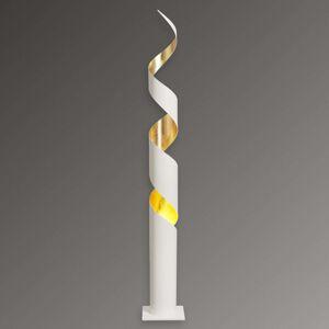 Stojací lampa Remi s pozlacením