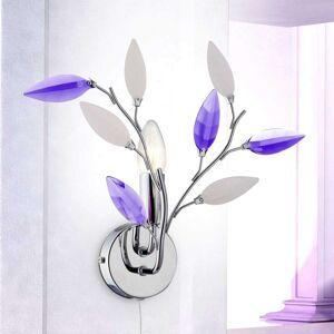 Nástěnné svítidlo Giulietta květinového vzhledu