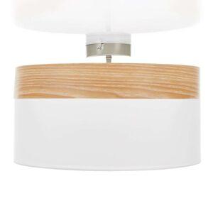 Stropní svítidlo Libba s dřevěnou dekorací
