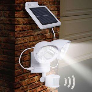 Solární svítidlo Maex na stěnu, s čidlem, 2bod.