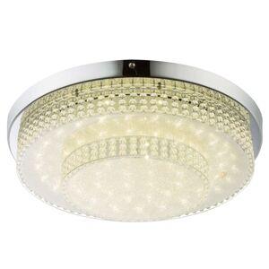 Cake - kulaté LED stropní svítidlo s efektní fólií