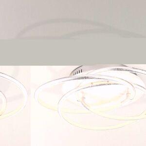 Barna LED stropní svítidlo ve stříbrném designu