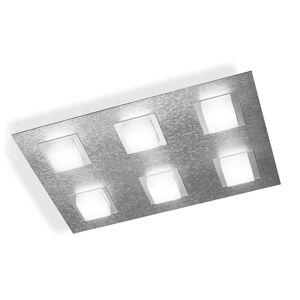 GROSSMANN Basic LED stropní svítidlo, 6zdr hliník