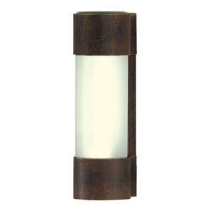 Nástěnné světlo NEPTO hnědá / zlatá patina
