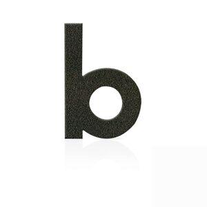 Nerezová domovní čísla písmeno b, hnědá mocca