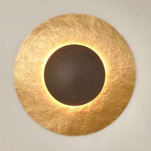 Nástěnné světlo Satellite 2 zlatohnědá, Ø 91 cm