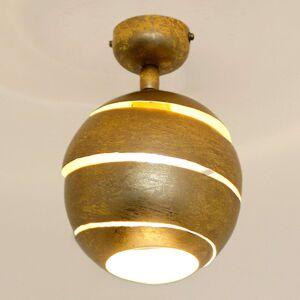 Otočné stropní světlo Suopare ve zlaté