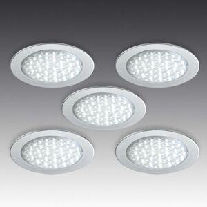 R 68-LED podhledové bodové svítidlo, 5dílná sada