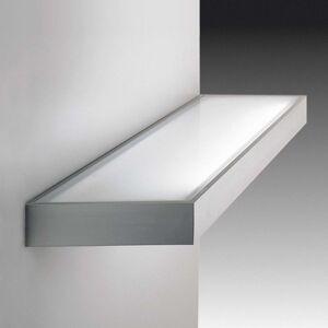 Dekorativní skleněné regálové světlo vzhled nerez