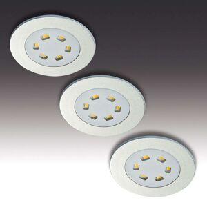 3dílná sada LED podhledové svítidlo R 55