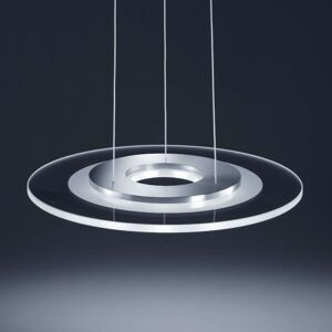 Helestra Alide – závěsné LED světlo, částečný mat