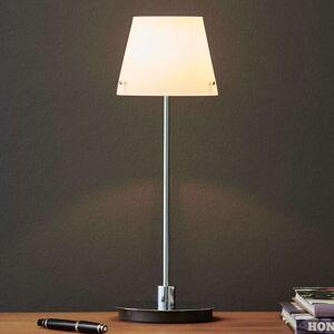 Stolní lampa Gil s opálovým skleněným stínidlem