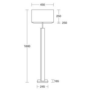 HerzBlut 11883.11 Stojací lampy